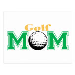 Golf Mom Postcards