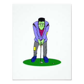 Golf Monster Personalized Announcement