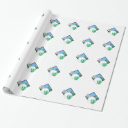 GOLF MONTAGE GIFT WRAP