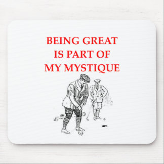 golf mouse pads