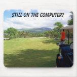 Golf Mousepad de Maui Tapetes De Ratones