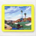 Golf Mousepad del desierto Alfombrillas De Raton