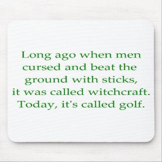 Golf Mousepad Tapetes De Ratones