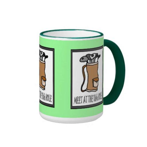Golf mug, Golf bag