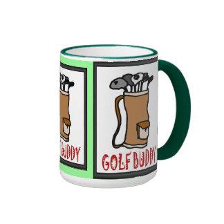 Golf mug,  Golf buddy Ringer Mug