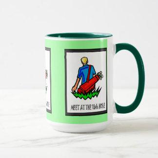 Golf mug, Meet at the 18th hole Mug
