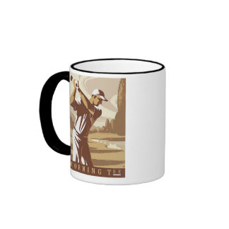 Golf Mug, Par to Win Ringer Mug