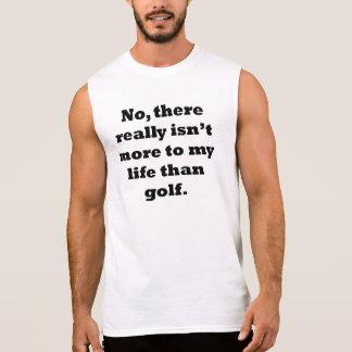Golf My Life Sleeveless Shirt