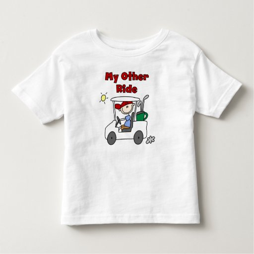 Golf My Other Ride Toddler T-shirt