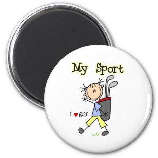 Golf My Sport  2 Inch Round Magnet