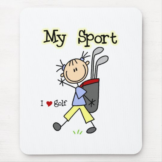 Golf My Sport  Mouse Pad