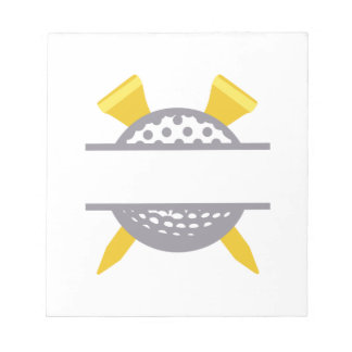 Golf Namedrop Note Pad