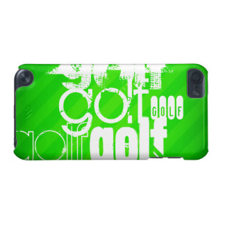 Golf; Neon Green Stripes. iPod Touch (5th Generation) Cases