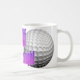 Golf No puede conseguir bastante taza