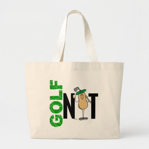 Golf Nut 1 Tote Bags