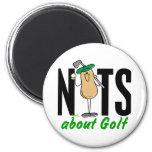 Golf Nut 2 Fridge Magnets