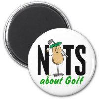 Golf Nut 2 Magnet