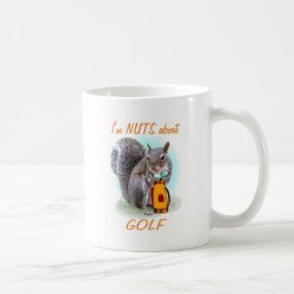 Golf Nut Coffee Mug