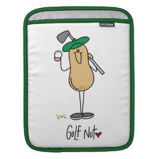 Golf Nut T-shirts and Gifts Sleeve For iPads
