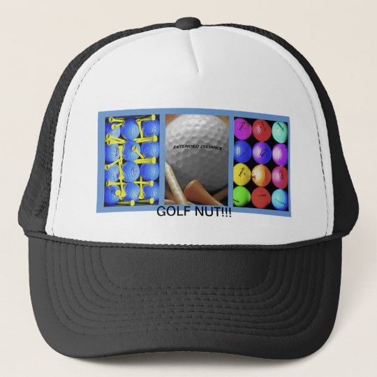 Golf Nut!!! Trucker Hat