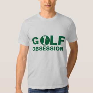 Golf Obsession Green silver T-Shirt