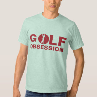 Golf Obsession Red Green T-Shirt