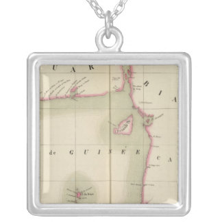 Golf of Guinea 36 Silver Plated Necklace