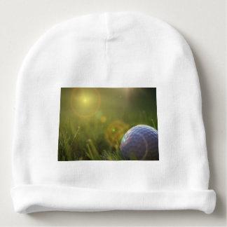 Golf on a Sunny Day Baby Beanie