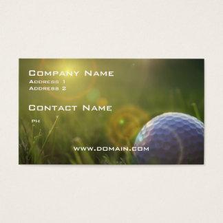 Golf on a Sunny Day Business Card