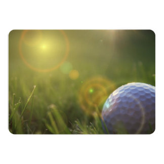 Golf on a Sunny Day Card