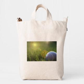 Golf on a Sunny Day Duck Bag
