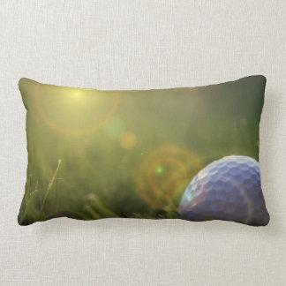 Golf on a Sunny Day Lumbar Pillow