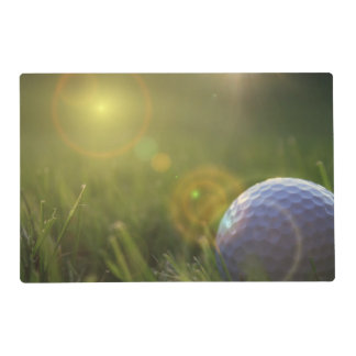 Golf on a Sunny Day Placemat
