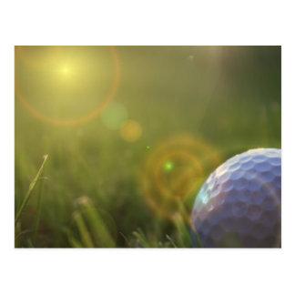 Golf on a Sunny Day Postcard