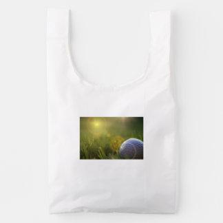Golf on a Sunny Day Reusable Bag