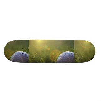 Golf on a Sunny Day Skateboard Deck