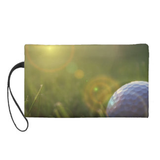 Golf on a Sunny Day Wristlet Purse