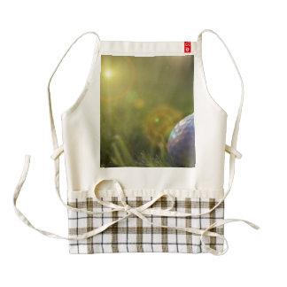 Golf on a Sunny Day Zazzle HEART Apron
