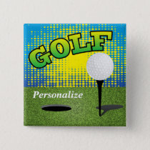 Golf on the Green Button