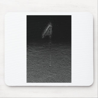 Golf On The Moon Mouse Pad