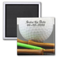 Golf Outting Save the Date Magnet