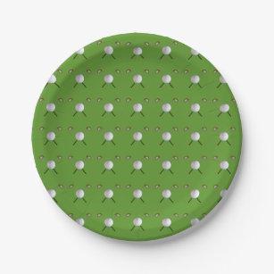 Golf Paper Plates & Golf Themed Plates | Zazzle