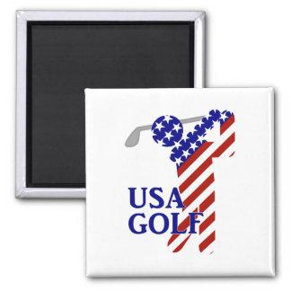 Golf para hombre de los E E U U - golfista de sex Imán De Frigorífico