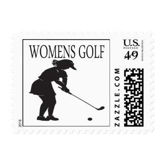 Golf para mujer estampilla