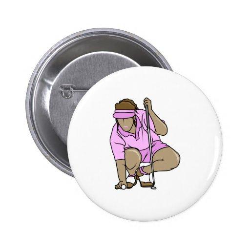 Golf para mujer pin redondo 5 cm