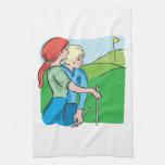 Golf para mujer toallas de cocina