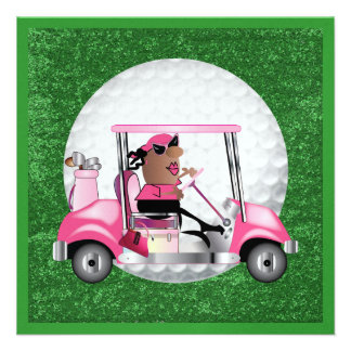 Golf Party - SRF Personalized Announcements