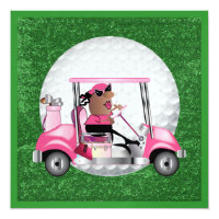 Golf Party - SRF Invitation