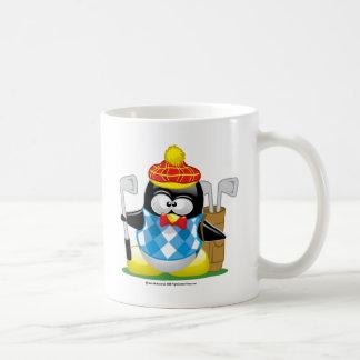 Golf Penguin Coffee Mug