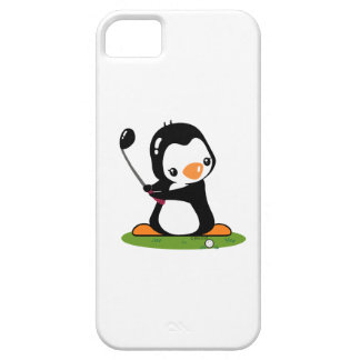 Golf Penguin iPhone SE/5/5s Case